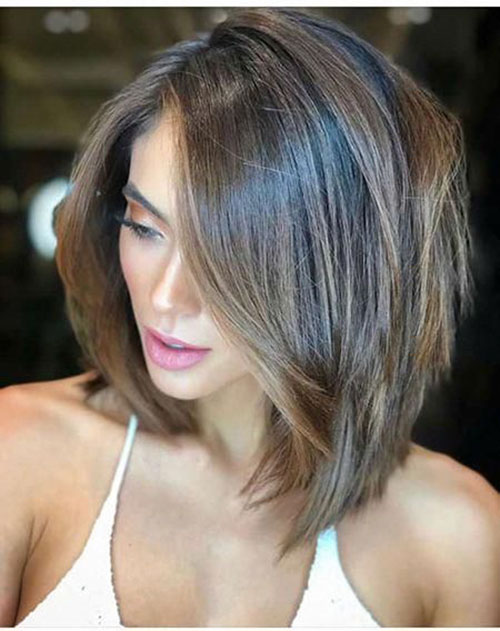 35 Most Beneficial Layered Bob Haircuts For Thick Hair Of Any Length Best Ideas In 2020