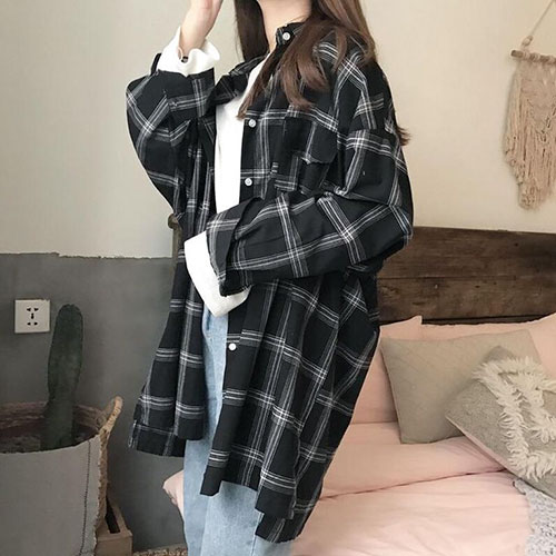 Cute Flannel Outfits