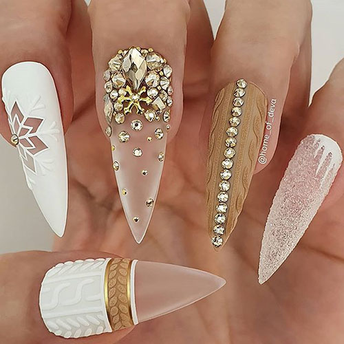 Images Of Winter Nails