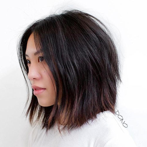 Layered Bob Cuts For Thick Hair