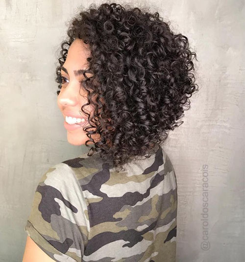40 Best Curly Inverted Bob Hairstyles In 2020