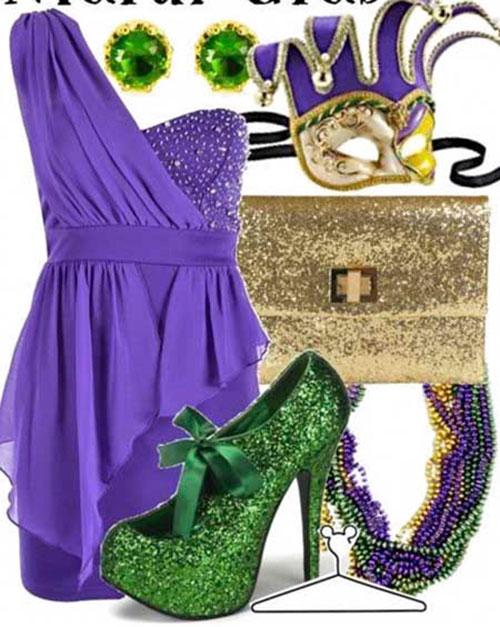 Ladies Mardi Gras Outfits