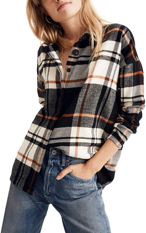 Casual Cute Flannel Outfits