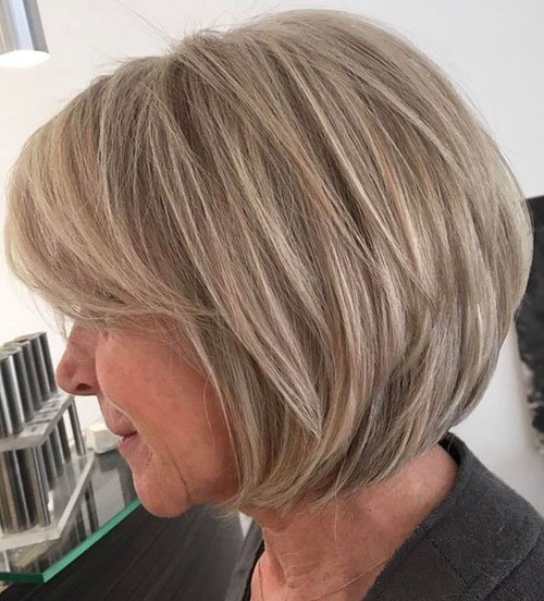 Layered Bob Hairstyles For Thick Hair